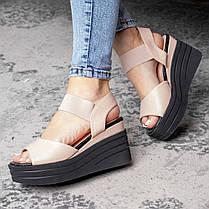 Женские сандалии Fashion Batista 3082 36 размер 23 см Бежевый, фото 3
