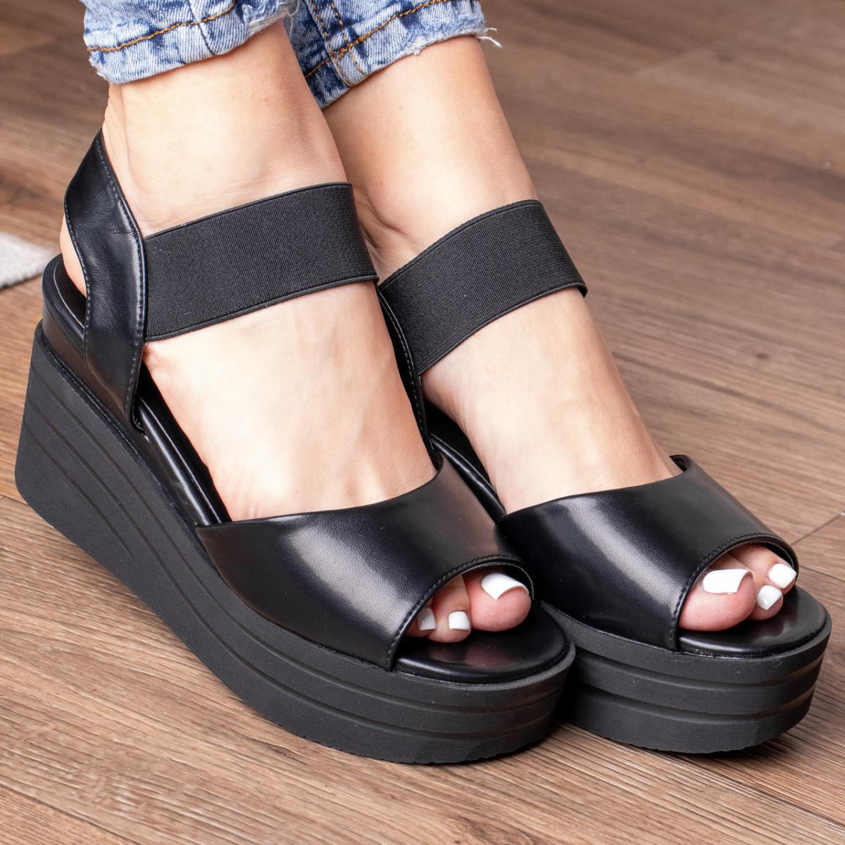 Женские сандалии Fashion Batista 3085 35 размер 22,5 см Черный