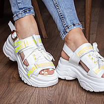 Женские сандалии Fashion Taffy 3016 36 размер 23 см Белый, фото 2
