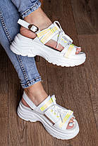 Женские сандалии Fashion Taffy 3016 36 размер 23 см Белый, фото 3