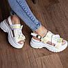 Жіночі сандалі Fashion Taffy 3016 36 розмір 23 см Білий, фото 2
