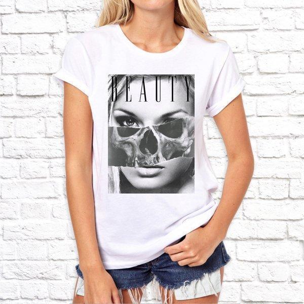 Женская футболка с принтом, Swag Beauty SKL75-293207
