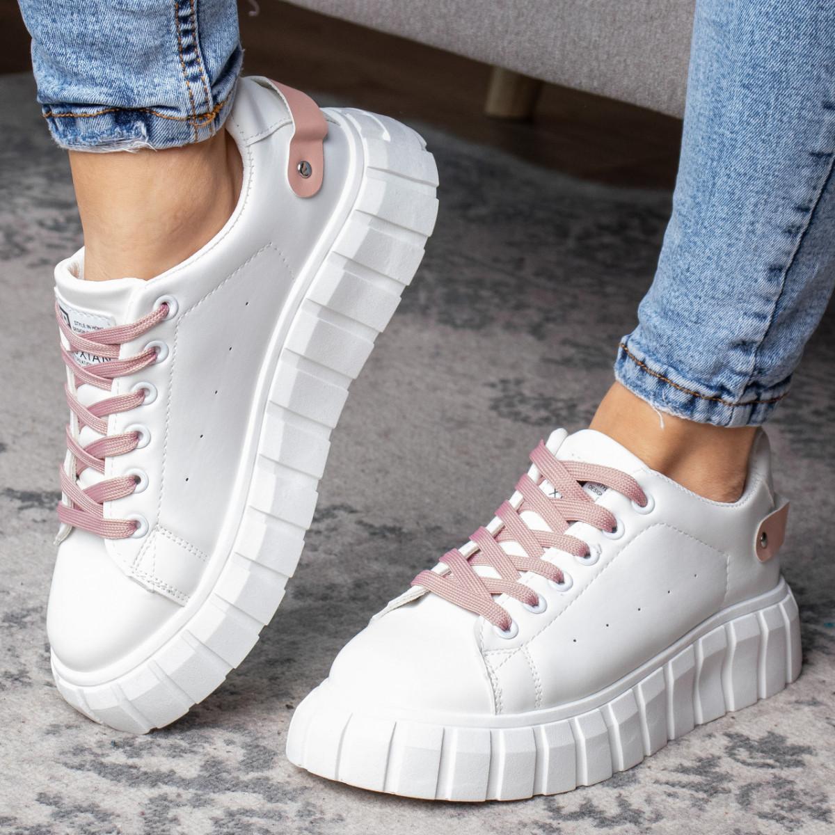 Кросівки жіночі Fashion Tsunami 3128 36 розмір, 23,5 см Білий