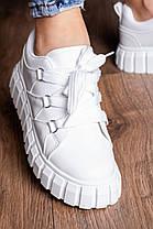 Кросівки жіночі Fashion Wizard 3127 36 розмір 23 см Білий, фото 3