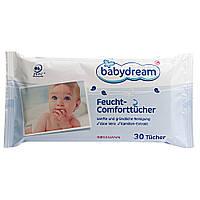 Влажные салфетки Babydream Kamillen-Extrakt, 80 шт