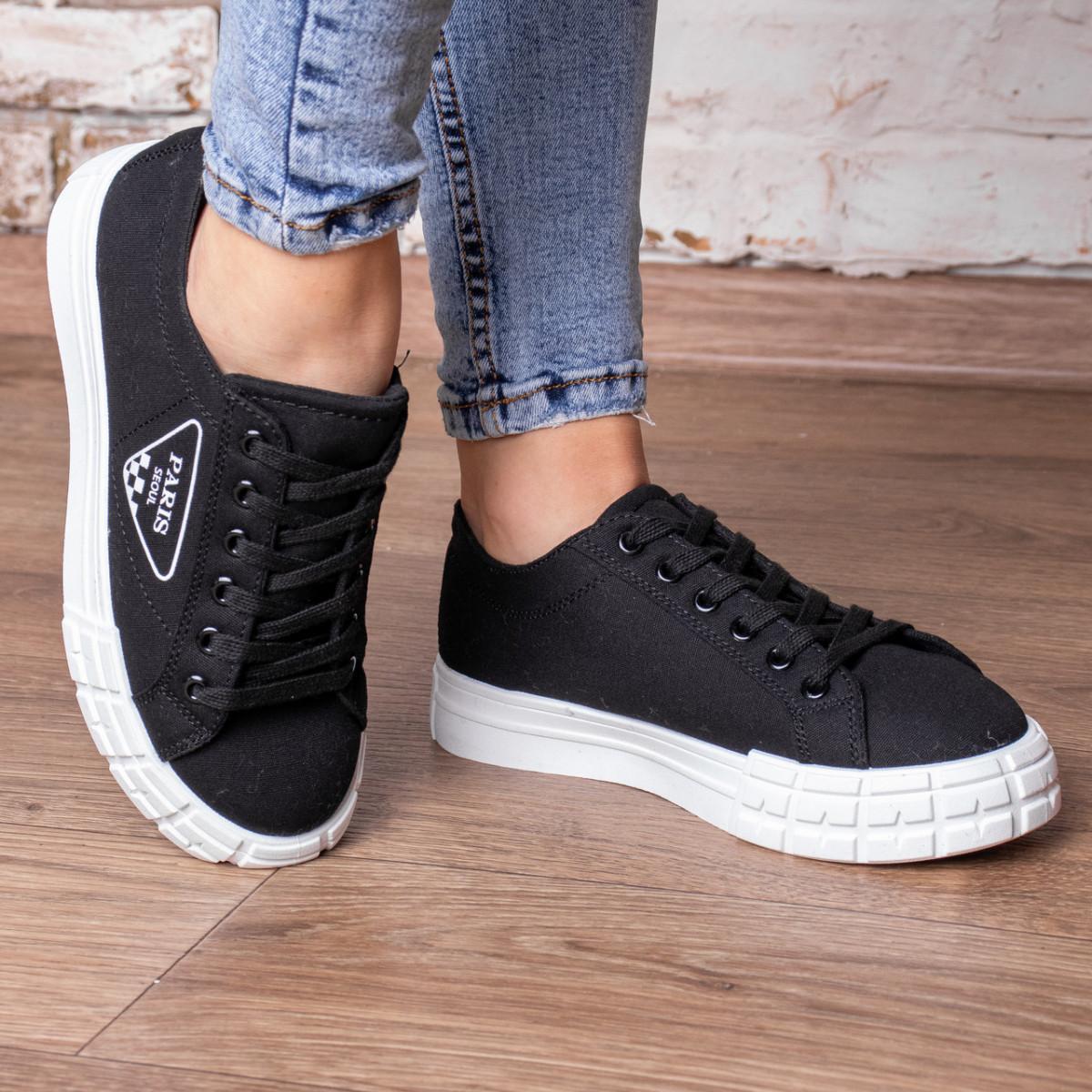 Кросівки жіночі Fashion Yuton 3120 36 розмір 23 см Чорний