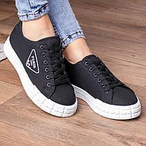 Кросівки жіночі Fashion Yuton 3120 36 розмір 23 см Чорний, фото 2