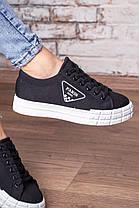 Кросівки жіночі Fashion Yuton 3120 36 розмір 23 см Чорний, фото 3