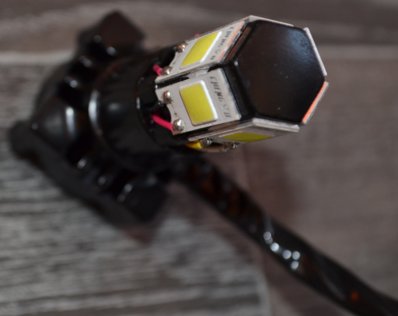 LED лампа главного света с вентилятором 6 диода