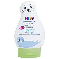 Гель для душа (шампунь) детский HIPP Sensitiv, 200 мл