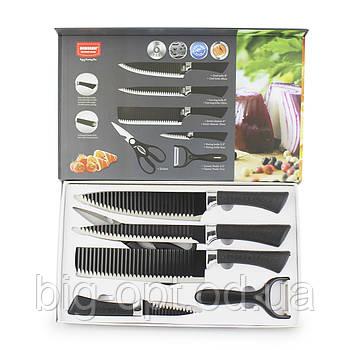 Набор ножей 6 в 1 Bobsen ER-0238A