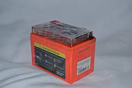 Аккумулятор 12V 4Ah гелевый с датчиком (113х70х85) UTX4L-BS ( оранжевый ) BATTERY, фото 2