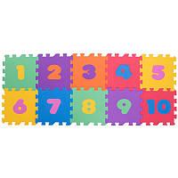 Дитячий килимок пазл SP-Planeta ігровий для занять спортом 10 шт 30 х 30 см Різнобарвний (C-3554)