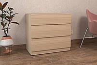 ALMA 5 / Комод цвет Ольха,   Комод в спальню, детскую, гостиную, прихожую , Для хранения вещей, фото 3
