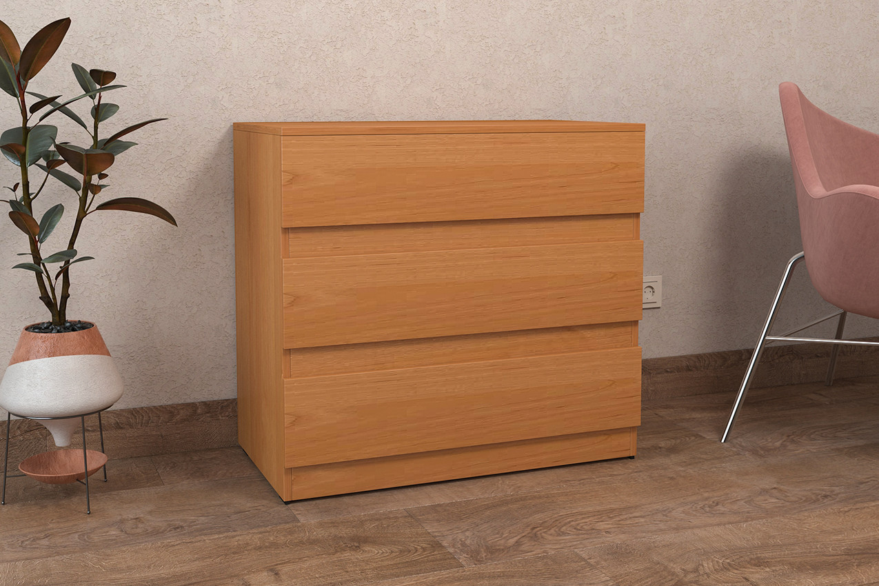 ALMA 5 / Комод цвет Ольха,   Комод в спальню, детскую, гостиную, прихожую , Для хранения вещей