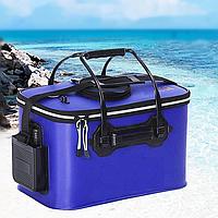 Складная сумка 24л Feima 40x25x24см для рыбы и прикормки водонепроницаемая универсальная