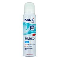 Дезодорант аэрозольный ISANA med Ultrasensitive Frisch, 150 мл