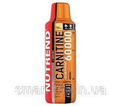 Жиросжигатель карнитин Nutrend CARNITINE 60000 + Synephrine 500 ml желтая малина