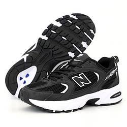 Мужские кроссовки New Balance 530, черно-белый, Вьетнам