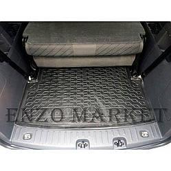 Автомобільний килимок в багажник Volkswagen Caddy Maxi 2004 - 7 місць (Avto-Gumm)
