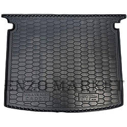 Автомобільний килимок в багажник Volkswagen Caddy 2004 - Life (Avto-Gumm)