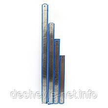Линейка металлическая 50см, ширина 2,5см. толщ. 0,7