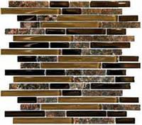 Плитка Мозаика Mozaico de LUX T-MOS GG01 171675