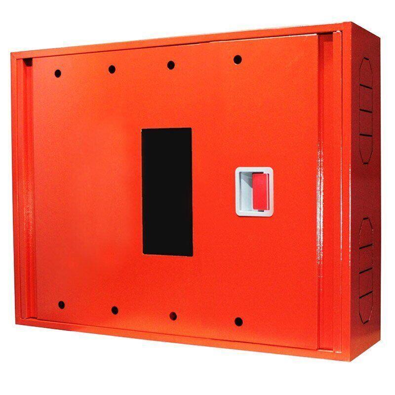 Шкаф пожарный ШП-80/60-НС Красный (навесной, с задней стенкой, с кассетой, 800х600х230мм)