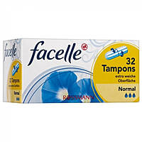 Тампоны Facelle Normal 3, 32 шт