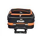 Валізи комплект 3 шт Bonro Style чорни з оранжевим, фото 7