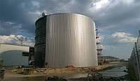 Пожарная емкость 500 м³ м.куб резервуар для воды с монтажом, изготовление резервуаров