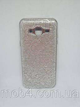 Силіконовий чохол накладка Камені Стрази для Samsung Galaxy J3
