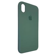 Чехол для Silicone Case iPhone XR Wood Green (58)