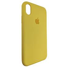 Чехол для Silicone Case iPhone XR Yellow (4)