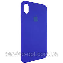 Чехол для Silicone Case iPhone XS Max Blue (40)