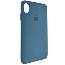 Чехол для Silicone Case iPhone XS Max Cosmos Blue (35)