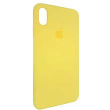 Чехол для Silicone Case iPhone XS Max Flash Yellow (32)