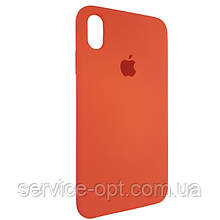 Чехол для Silicone Case iPhone XS Max Imperial Red (29)
