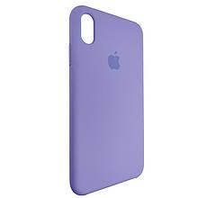 Чехол для Silicone Case iPhone XS Max Light Violet (41)