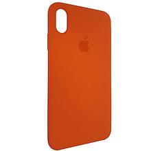 Чехол для Silicone Case iPhone XS Max Orange (13)
