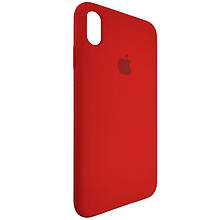 Чехол для Silicone Case iPhone XS Max Red (14)