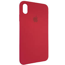 Чехол для Silicone Case iPhone XS Max Rose Red (36)