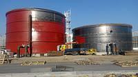 Пожарная емкость 600 м³ м.куб резервуар для воды с монтажом, изготовление резервуаров