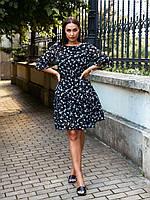 Женское воздушное шифоновое платье, фото 1