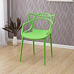 Стілець Мастерс пластик, колір зелений, фото 2