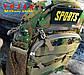 Сумка тактическая плечевая Tactic Sports Desert Digital, фото 5