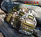 Сумка тактическая плечевая Tactic Sports Desert Digital, фото 4