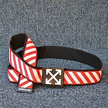 Ремень Off White Black Red White 115см