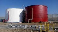Пожарная емкость 1000 м³ м.куб резервуар для воды с монтажом, изготовление резервуаров