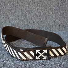 Ремень Off White Black White 115см